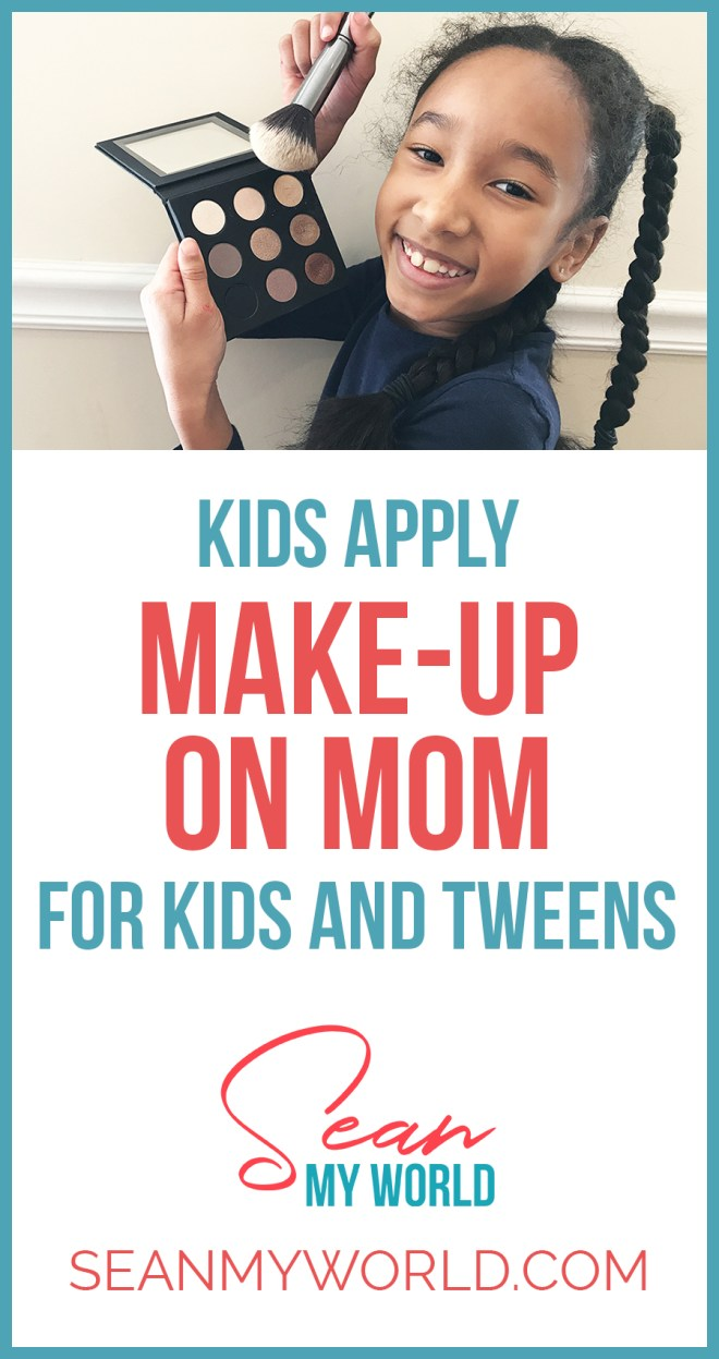 What happens when kids do their moms makeup? In this video, my sister Ella and I do my mom's makeup to hilarious results. I can't believe she let us do it!