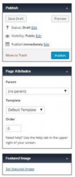 Atributos da página
