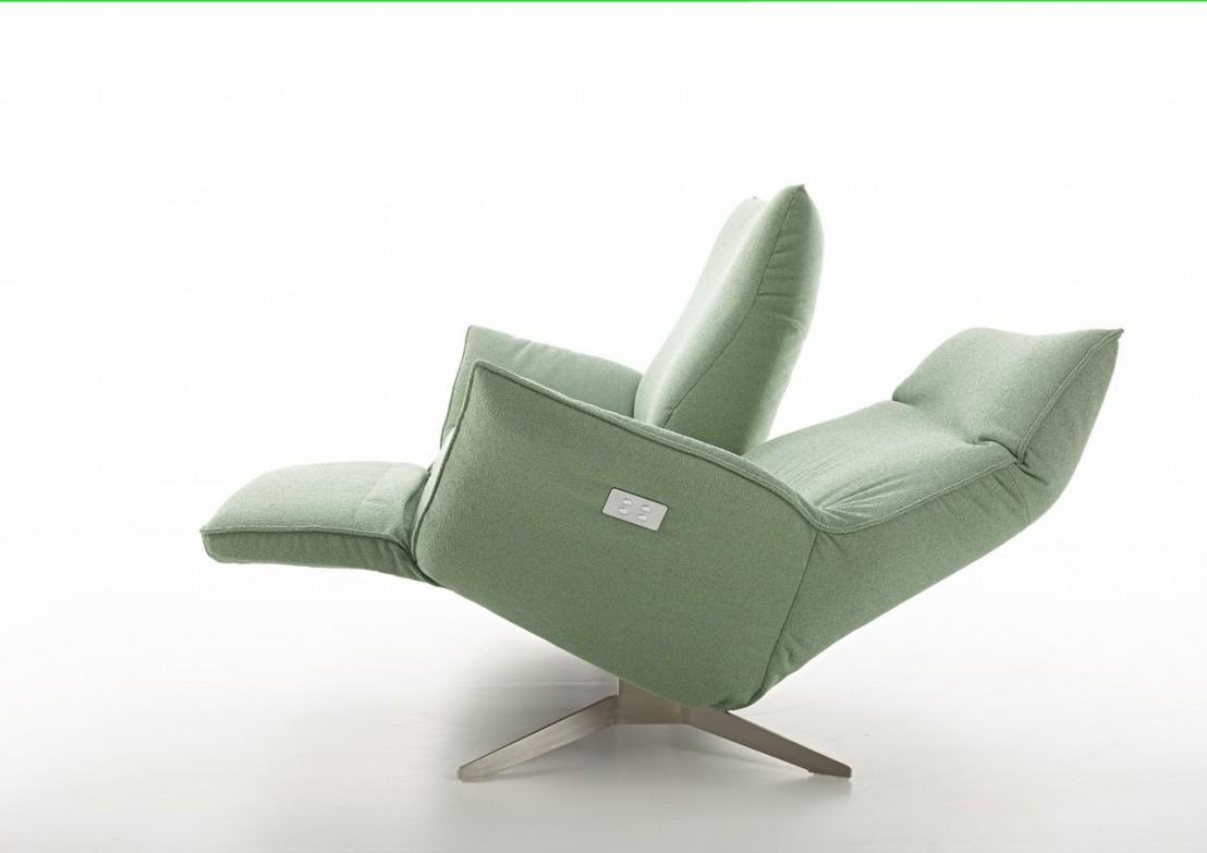Canap Design Relax Lctrique Compact Cuir Ou Tissu 2