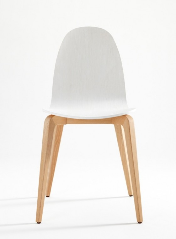 bliss chaises design en bois de hetre massif par 4