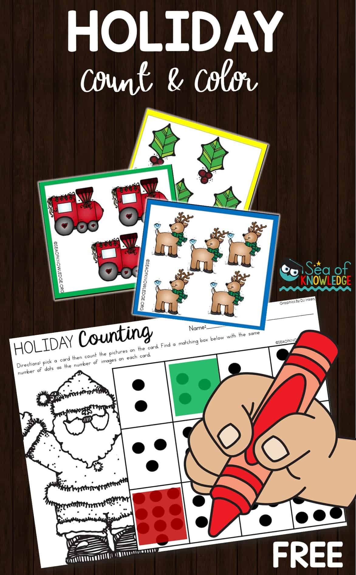 12 Days Of Christmas Activities And Clipart Freebies