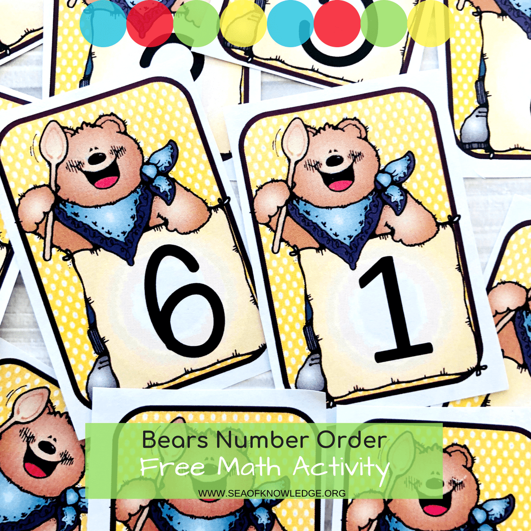The Cutest Bear Free Printable Numbers Cards 1 20 And