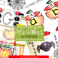 Spooktacular Halloween Alphabet Formation Activities Your Kids Won't Resist