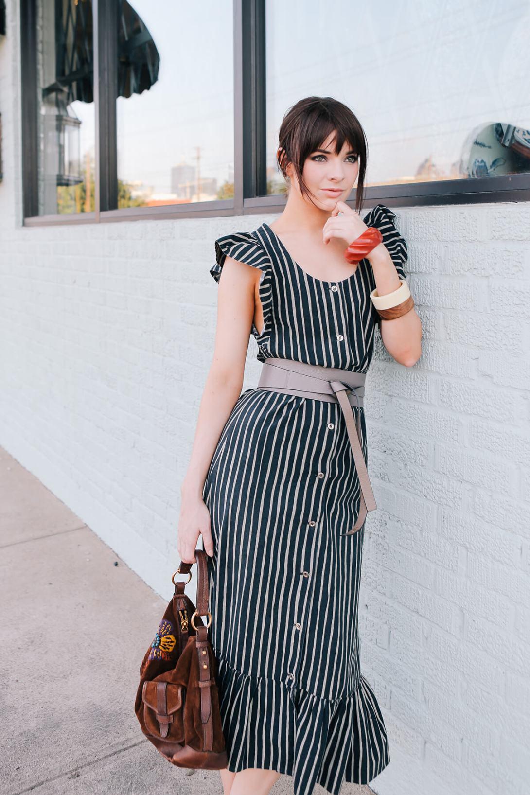on seaofshoes.com, 70s Marimekko dress