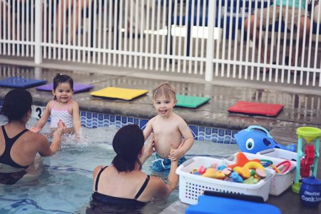 Parent Tot swim lessons