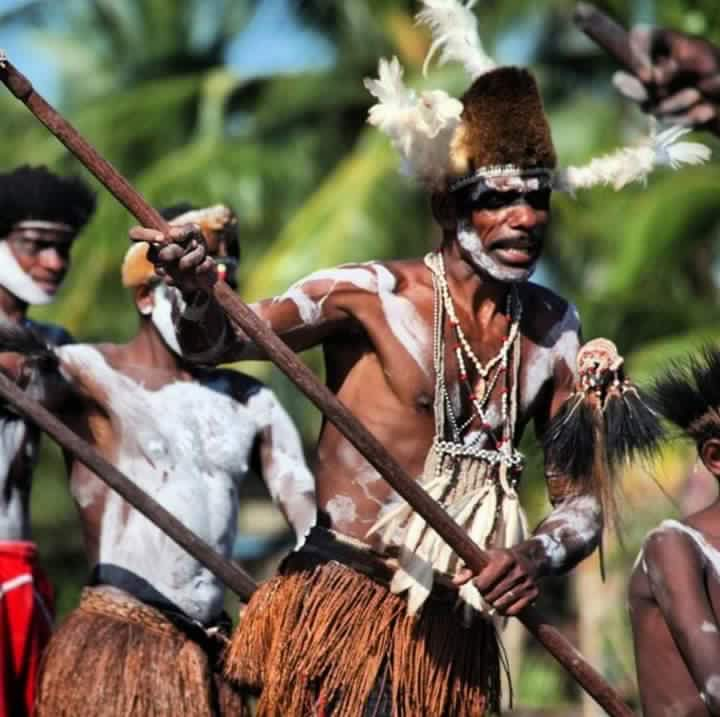 Asmat tribal dance