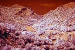 Vallata soprastante il paese di Alcara Li Fusi (ME)