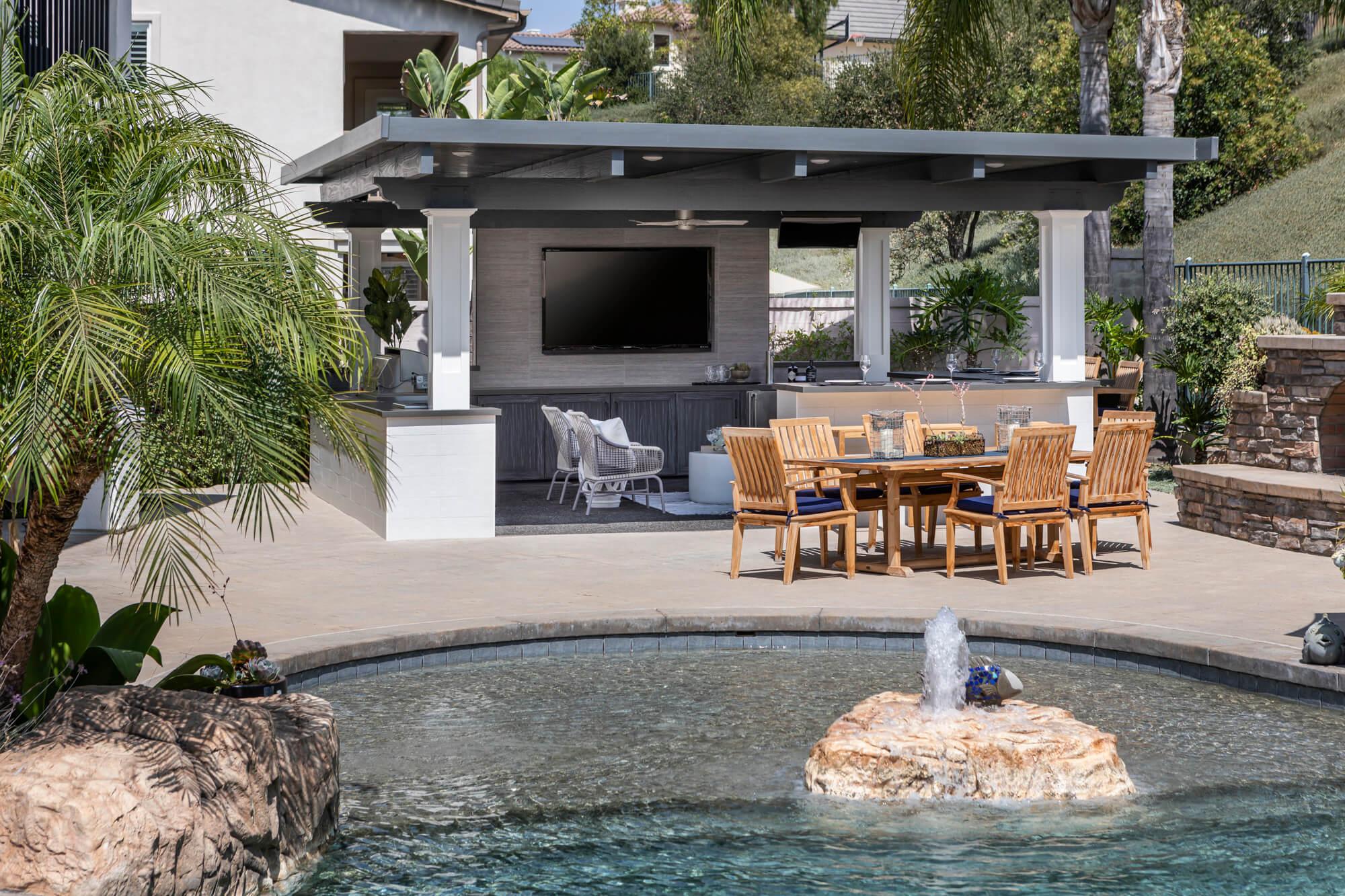 outdoor rooms california rooms