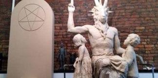 Satanistas querem instalar estátua de criatura com chifres