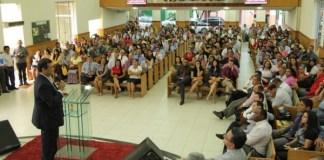 Flavio Dino é recebido em Imperatriz por pastores de 157 igrejas evangélicas