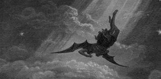 Órgão satânico pede tratamento igualitário para expor tela com Satanás caindo do céu