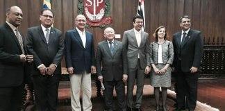 Governador do estado de SP recebe Comitê Organizador da 24ª Conferência Mundial Pentecostal