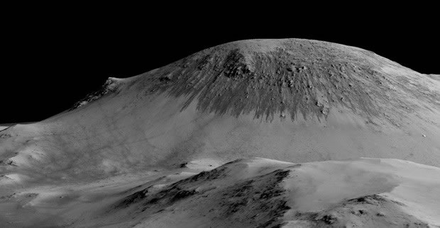 Marte tem 'córregos' sazonais de água salgada, revela sonda da Nasa - 3