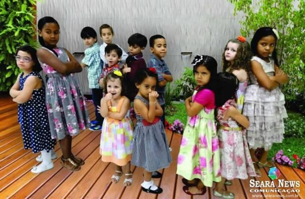 Crianças da AD Cobilândia, em Vila Velha - ES (Foto: Déia Pinheiro / Seara News)