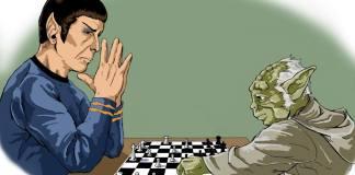 """Quem é esse """"deus"""" paranoico, Spock?"""