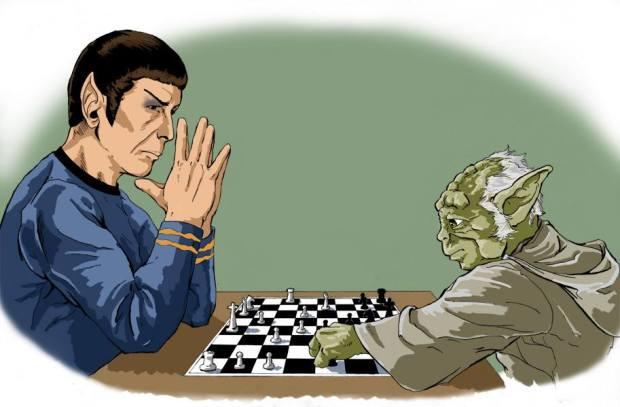 Quem é esse deus paranoico, Spock?