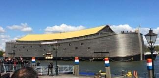 Réplica da Arca de Noé em tamanho real visitará o Brasil