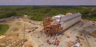 Réplica da Arca de Noé está em fase de finalização