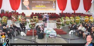 Pastor Cesino Bernardino é velado no Pavilhão dos Gideões