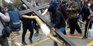 Chile: 16 Igrejas foram destruídas este ano