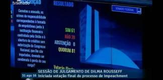 Senado aprova impeachment e Dilma Rousseff é afastada definitivamente da Presidência