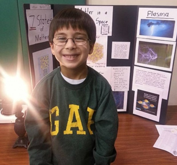 Menino de 9 quer ser físico para provar a existência de Deus