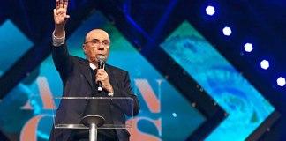 Henrique Meirelles participa de evento da Igreja Sara Nossa Terra