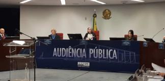 Audiência pública do STF sobre descriminalização do aborto