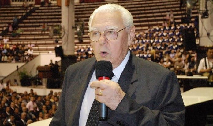 Pastor Sebastião Rodrigues de Souza declara apoio a Jair Bolsonaro