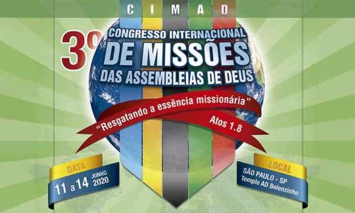 CGADB divulga 3º Congresso Internacional de Missões