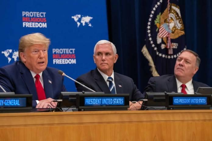 Donald Trump cria fundo para proteção da liberdade Religiosa