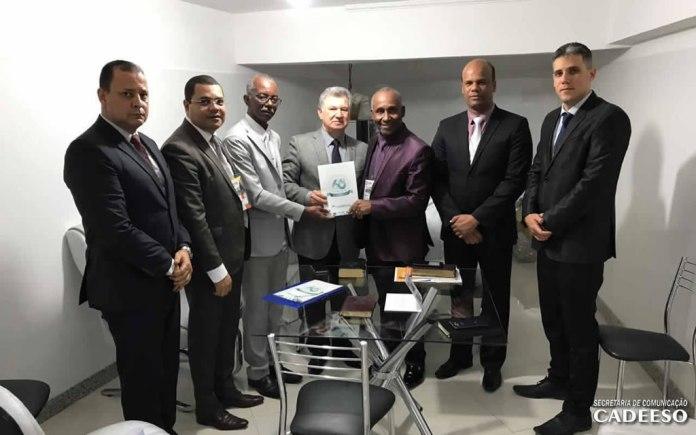 CADEESO formaliza convite ao presidente da CGADB