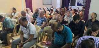 Famílias sírias recebem apoio de igrejas cristãs