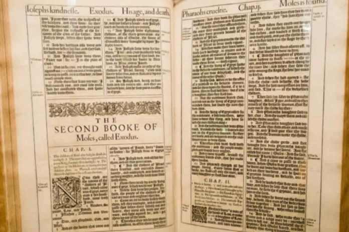 Bíblia King James terá sua primeira edição exibida na Arábia Saudita
