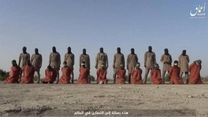 Onze cristãos decapitados na Nigéria