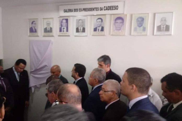 CADEESO abre comemorações do Jubileu de Diamante em solenidade de descerramento de placa