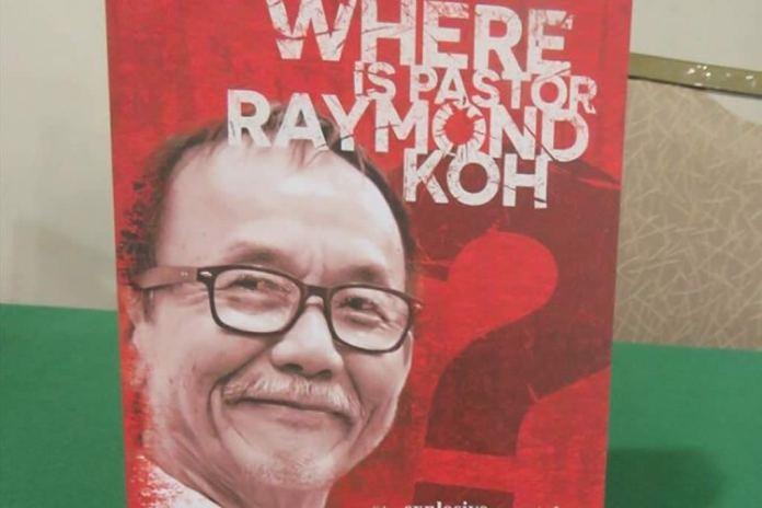 Desaparecimento do pastor Raymond Koh completa 3 anos