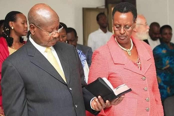 Primeira-dama de Uganda incentiva casais e a evangelização
