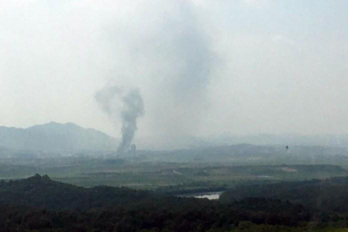 Coreia do Norte explode escritório de relações com Coreia do Sul, na zona desmilitarizada