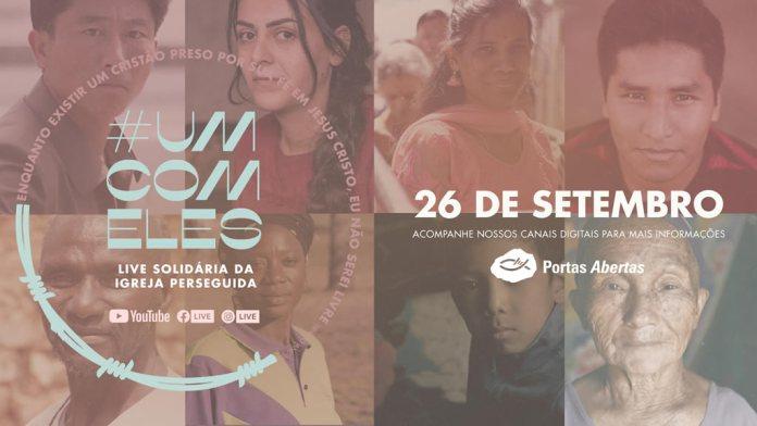 Live Solidária reúne artistas cristãos em favor da Igreja Perseguida