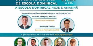 CPAD realiza Fórum Online de Superintendentes de Escola Dominical