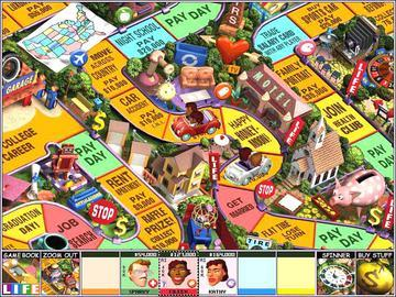 Play free The Game of Life Online games  Play Hasbro Game of Life     Picture 1