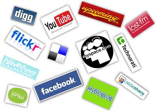 Social media platform logos