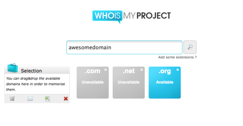 whoismyproject