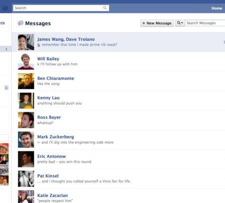 Facebook's Social Inbox