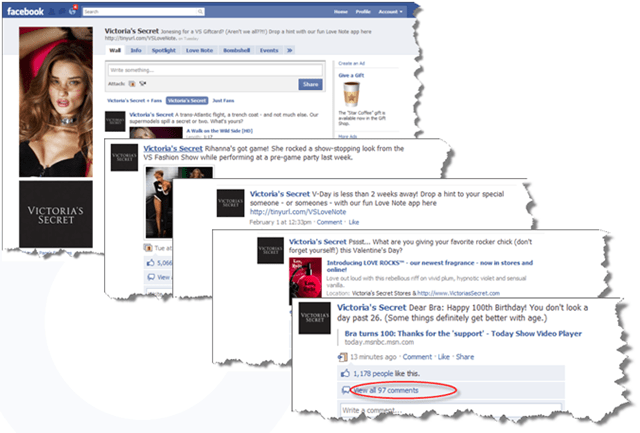 And the Oscar Goes To     2010's Best Facebook Pages