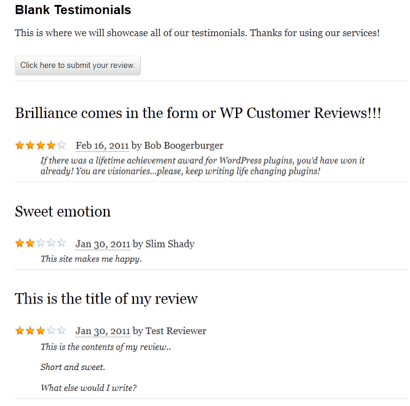 WP Customer Reviews | Search Engine People