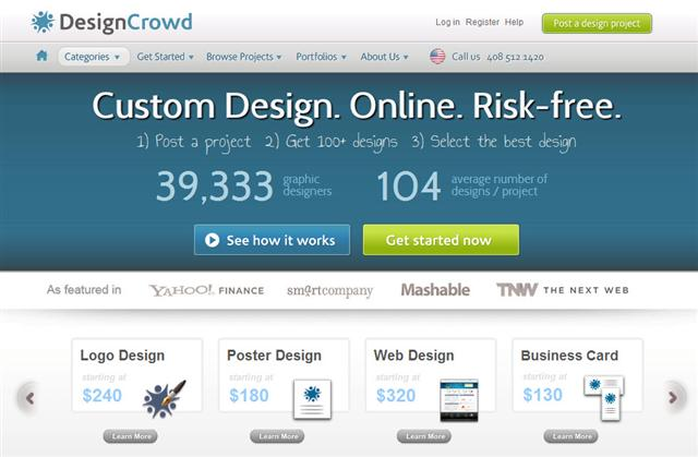Design contests by DesignCrowd.com