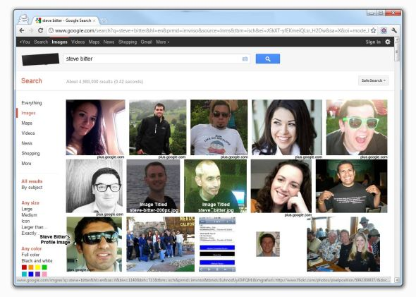 70% of top 10 are Google Plus Results