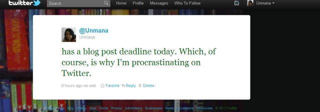 Tweet from @Unmana